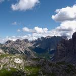 Dolomites - Dolomiti Friulane - Ricovero Cason di Brica à Bivacco Marchi-Granzotto