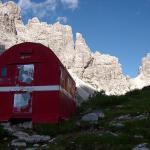 Dolomites - Dolomiti Friulane - De Bivacco Marchi-Granzotto à Bivacco Vaccari