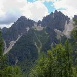 Dolomites - Dolomiti Friulane - De Ricovero Francescutto à Bivacco Vaccari via Forni di Sopra