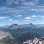 Dolomites - Moiazza - De Casera dei Pass à Bivacco Ghedini (Via ferrata Costantini)