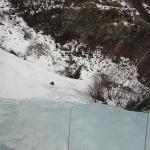 Cascade de glace près de l\'Argentière