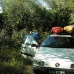 Kayak et trek en Slovénie du 29 juillet au 10 août 2007