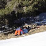 Rando à ski sur le Mont Tendre, en Suisse