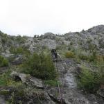 Escalade et canyoning dans l\'Arriège en avril 2009