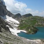 D\'Alleghe à la cabane Della Grava via le lac Coldai