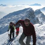 Ski de rando en Haute-Savoie les 13 et 14 février 2010