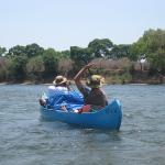 Cinq jours de navigation en canoë sur le Zambèze - Jour 2