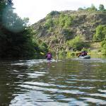 Kayak entre Jonchères et Chapeauroux