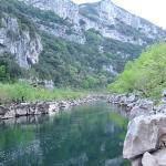 Descente des gorges de l\'Ardèche en kayak