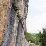 Escalade à Casteljau en Ardèche