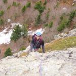 Escalade au Pas de Peyrol en Auvergne