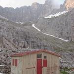 Dolomites - Pale di San Martino - De Malga Val di Roda à Bivacco Minazio