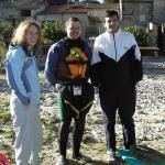 Sortie en Ardèche du 1er au 5 novembre 2006 avec Corbeil et le PSUC