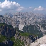 Dolomites - Dolomiti Friulane - De Bivacco Greselin à Ricovero Casera Laghet de Sora